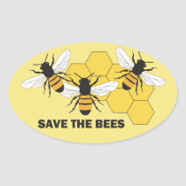 Beekeeper Save the Bees Sticker