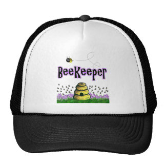 beekeeper trucker hat