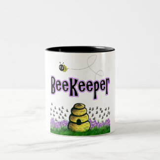 beekeeper Two-Tone coffee mug