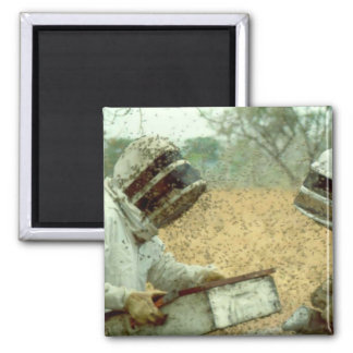Beekeepers 2 Inch Square Magnet