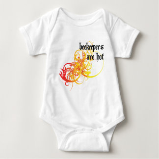 Beekeepers Are Hot Baby Bodysuit