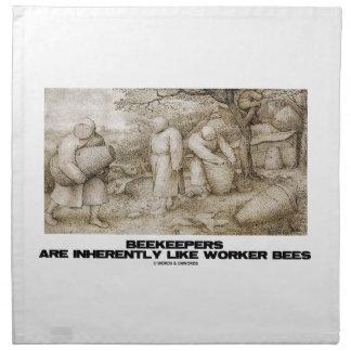 Beekeepers Are Inherently Like Worker Bees Bruegel Napkin