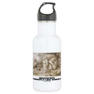 Beekeepers Are Inherently Like Worker Bees Bruegel Stainless Steel Water Bottle