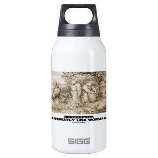 Beekeepers Are Inherently Like Worker Bees Bruegel Thermos Water Bottle