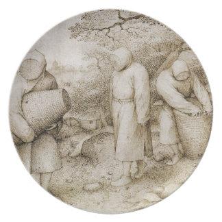 Beekeepers by Pieter Bruegel the Elder Dinner Plate