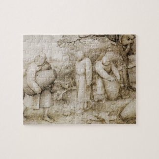 Beekeepers by Pieter Bruegel the Elder Jigsaw Puzzle