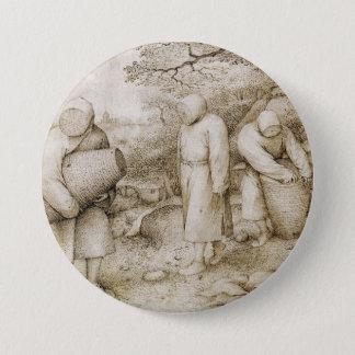 Beekeepers by Pieter Bruegel the Elder Pinback Button