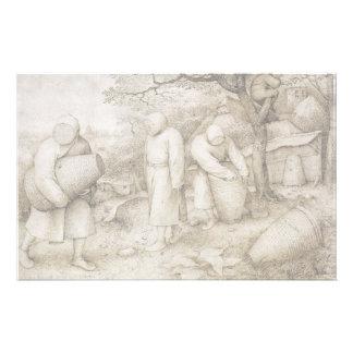 Beekeepers by Pieter Bruegel the Elder Stationery