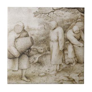 Beekeepers by Pieter Bruegel the Elder Tile