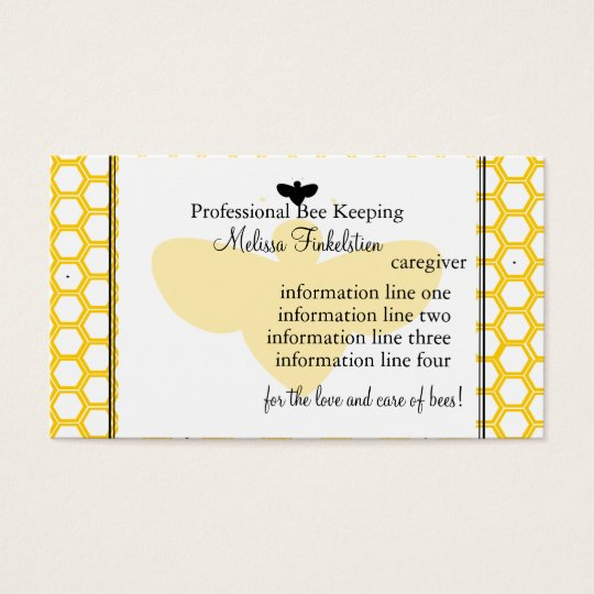 Beekeepers Card