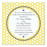 """Beekeeper's Card 5.25"""" Square Invitation Card"""