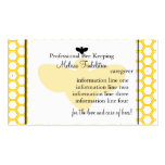 Beekeepers Card Double-Sided Standard Business Cards (Pack Of 100)