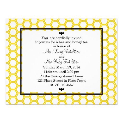 Beekeeper's Card Custom Invite