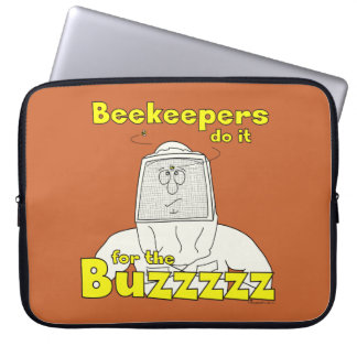Beekeepers do it for the Buzzzzz - Laptop Sleeve