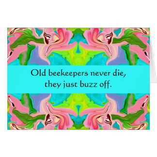 beekeepers humor card