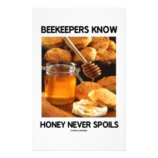 Beekeepers Know Honey Never Spoils Stationery