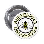 Beekeeping 2 Inch Round Button
