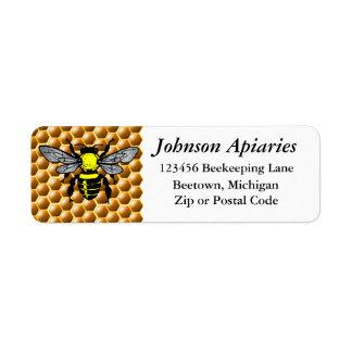 Beekeeping Address Labels