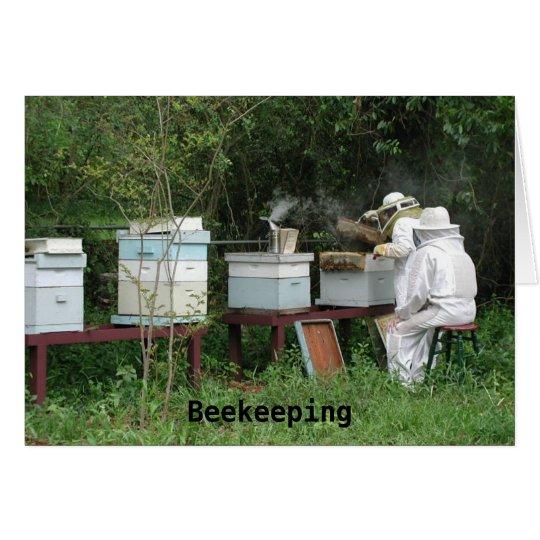 Beekeeping class card