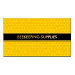 BEEKEEPING HONEY BEE SUPPLIES BUSINESS CARD