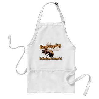 Beekeeping is the bees knees adult apron