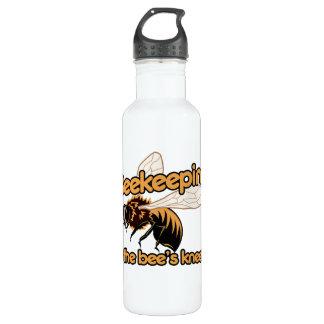 Beekeeping is the bees knees 24oz water bottle