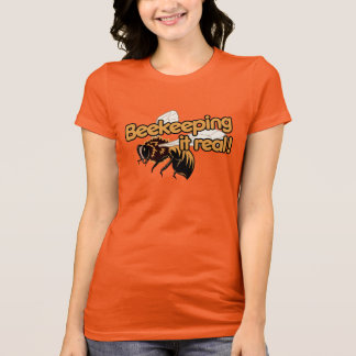 Beekeeping it Real! T-Shirt