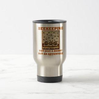 Beekeeping Not Just A Hobby But An Adventure 15 Oz Stainless Steel Travel Mug