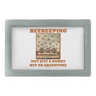 Beekeeping Not Just A Hobby But An Adventure Rectangular Belt Buckle