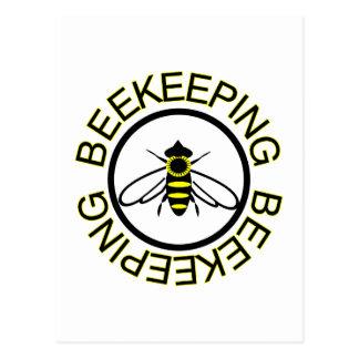 Beekeeping Postcard