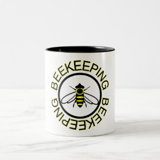 Beekeeping Two-Tone Coffee Mug