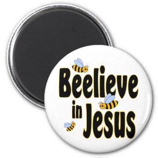 Beelieve en el negro de Jesús Imán Redondo 5 Cm