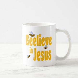 Beelieve in Jesus Coffee Mug