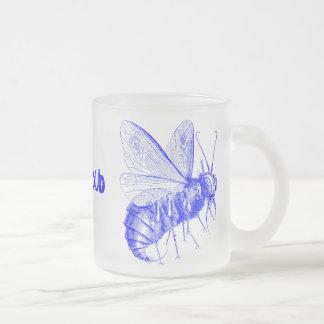 Beelzebub Frosted Glass Coffee Mug
