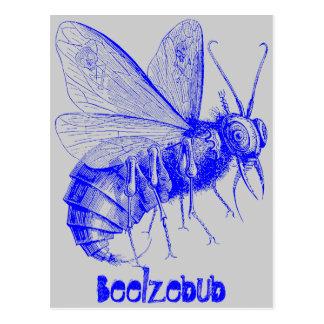 Beelzebub Postcard