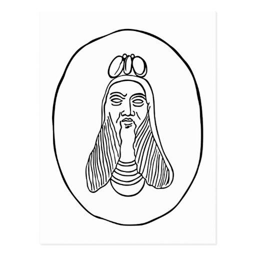 Beelzebub the Fly-God Post Cards