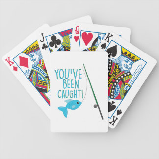 Been Caught Bicycle Playing Cards