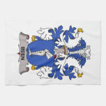 Been Family Crest Hand Towels