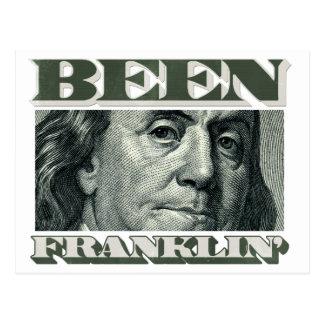 Been Franklin' Postcard