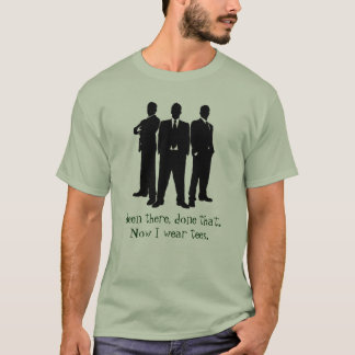 Been there done that. Now I wear tees. T-Shirt