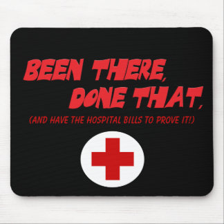 Been There, Done That: Ouch! Mouse Pad