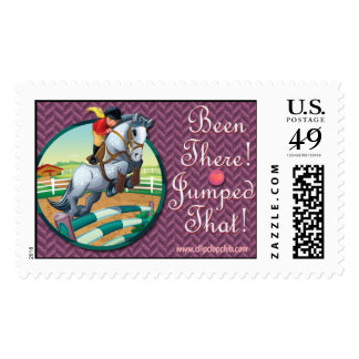Been There-Jumped That! Postage