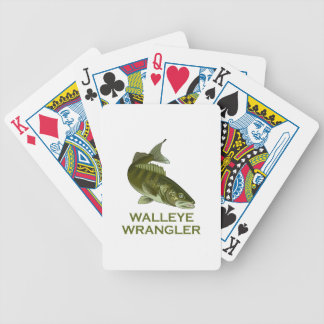 BEEN THERE WALLEYE BICYCLE PLAYING CARDS