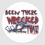 Been-There-Wrecked-That-[Co Classic Round Sticker