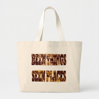 BEEN THINGS SEEN PLACES TOTE BAG