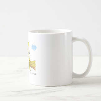 Beene dangle classic white coffee mug