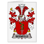 Beenfeld Family Crest Cards