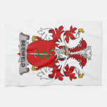 Beenfeld Family Crest Hand Towels