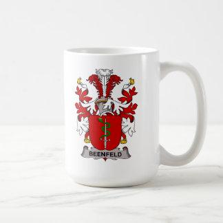 Beenfeld Family Crest Classic White Coffee Mug