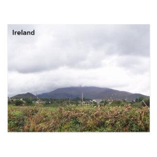 Beenoskee - Carrigadav Mountain, Kerry, Ireland, Postcard